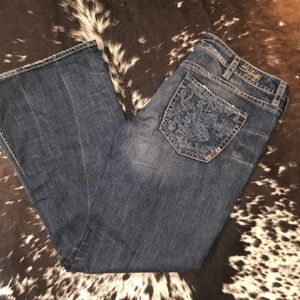 Silver Lala Jeans sz 36